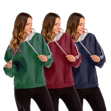 casual wear top sale hoodie women