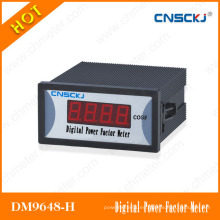 (DM9648-H) Relación CT / PT Medidor de factor de potencia monofásico 96 * 48mm