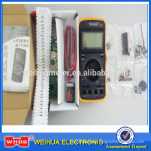 Digital Multimeter Teaching DT9205A with DIY Teaching & Learning Kit Teaching Kit for students