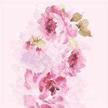 Nova moda de impressão digital tecido de algodão flor (TLD-0050)