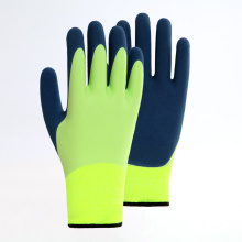 Two-color Latex Matte Safety Gloves