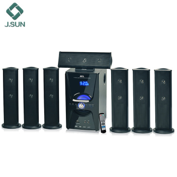 7.1 home theater multimedia speaker systems comentários
