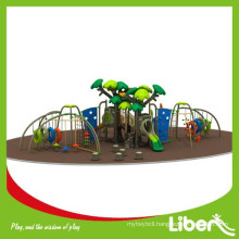 China Large Amusement Park Outdoor Playground with Climbing Structures
