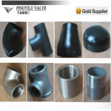 Carbon steel pipe fitting equal tee weight