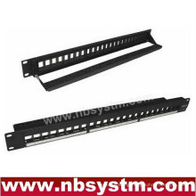24 port UTP Blank Patch Panel with back bar 19'' 1U,available for Cat5e or Cat6 Keystone Jacks