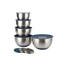 Kitchen Accessories Dinnerware Stainless Steel Mixing Bowls