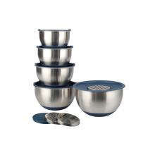 Tigelas de mistura de aço inoxidável da louça dos acessórios da cozinha
