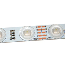 Edgelight Led Strip Waterproof Optical Lens 24V CE ROHS Led 5050 Rgb