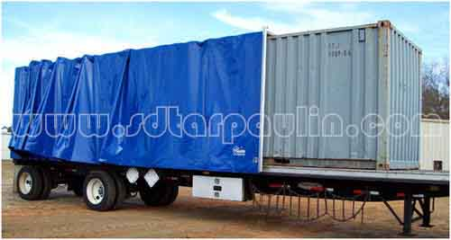 Heavy Duty Cover Trailer Tarp