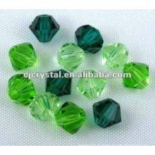 Perles Bicône en verre, perles chinoises pas chères