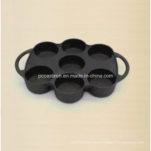 Preseasoned Danish Cake Pan for 6PCS Cake