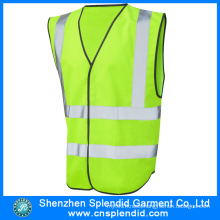 Custom High Visibility Safety Reflection Vest with Pocket