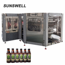 High automatic small bottling machine for craft beer