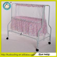 EN1888 hochwertiger Rahmen China Babybassinet Kinderbett