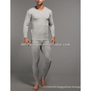 super soft winter long men's cashmere underwear