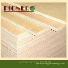 Contreplaqué commercial de haute qualité pour la décoration et les meubles