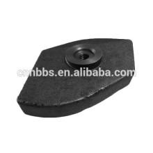 Custom fabricação de fundição de ferro fundido peça de usinagem