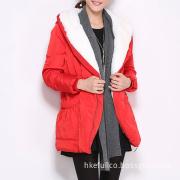2014 Ladies Fashion Wholesale Long Plaid Coat Hot Sale
