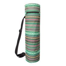 Fitness Yoga Bag One-Shoulder Long Tube Canvas Yoga Mat Storage Bag Yoga Mat Bag