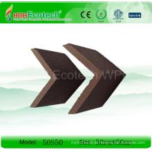Wood Plastic Composite Endabdeckung (50S50)