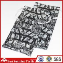 Negro Micro Fiber Cloth Eyeglass caso / Bolsa / Bolsa