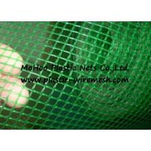 extruded plastic net&mesh plastic BOP netting&mesh bi-oriented net&mesh (factory)