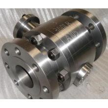 Válvula de bola forjada A105 de alta presión