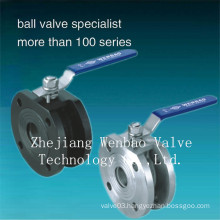 Q71f-16p/R Italy Type Wafer Ball Valve