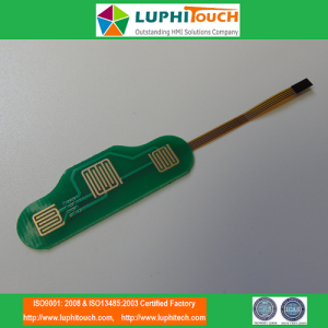 SIlicone Rubber Keypad Hotbar Lamination PCB Membrane Switch