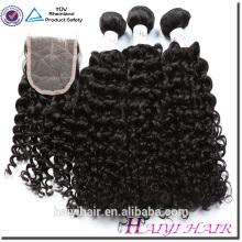 Qingdao usine Dropship cheveux cheveux bouclés cheveux cambodgiens armure