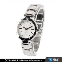 Relojes de marca para las mujeres reloj de cuarzo resistente al agua japan movement pc21j