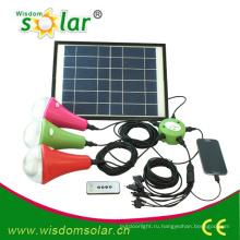 15W долгое время работы солнечной системы освещения, светодиодные системы солнечного освещения дома