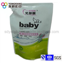 Size Customized Stand up Liquid Spout Bag for Laundry Detergent