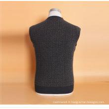 Yak laine / cachemire col v pull à manches longues chandail / vêtements / vêtement / tricots