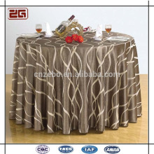 100% polyester en gros Jacquard Lin Nappage bon marché de table de restaurant