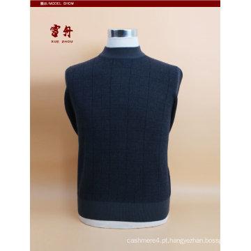 Lã de iaque / cashmere em torno do pescoço camisola de manga comprida / roupas / vestuário / malhas
