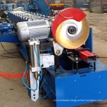 Used Metal Water Downspout Gutter Bending Roll Forming Machine For Sale