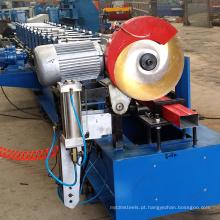 Rolo de dobra usado da calha do Downspout da água do metal que forma a máquina para a venda