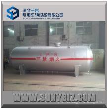12m3 5t Overground Pressure Vessel Series Horizontal LPG Storage Tanker