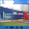 Seamless Inkjet Printing Frontlit Flex Banner For Airport Light Boxes , Weather Resistant