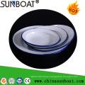 Sunboat Kitchenware/ Kitchen Appliance Enamel Tray Enamel Dish Dinnerware Enamel Plate