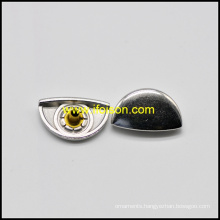 Half round Shape Metal Snap Button