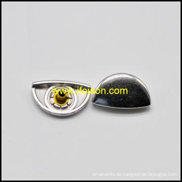 Halb runde Form Metall Snap Button