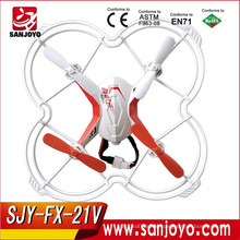 2.4G 4CH Voice control 4channel rc drone with gyro mini quadcopter Electric Toys Drone FX-21V