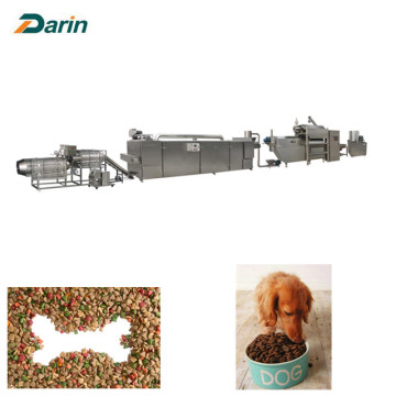 Pet food extruder productielijn
