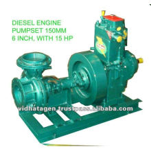 Pompe à eau à moteur diesel pour l'irrigation