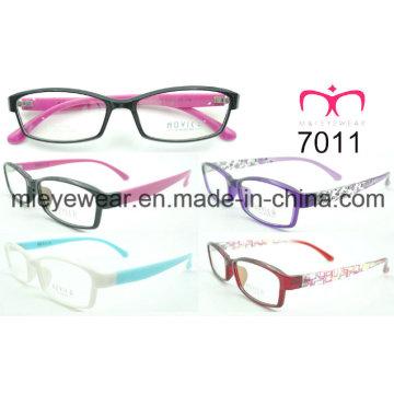 Tr90 marco óptico para señoras de moda (7011)