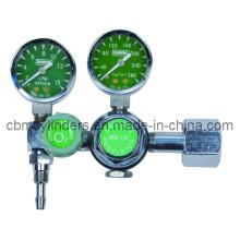 Double-Gauge Oxygen Regulator