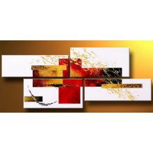Peinture à l'huile abstraite à l'encre couleur haute qualité