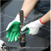 SRSAFETY cheap price/construction latex palm coated gloves protection/hand gloves